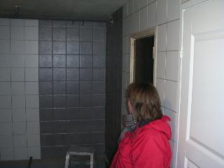 Avlopp i vägg